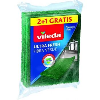 SPUGNA -VILEDA-FIBRA VERDE...